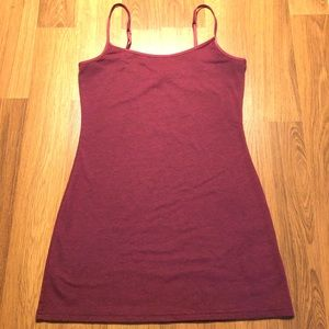 H&M Burgundy Divided tank top